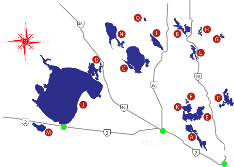 Deer River Map